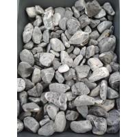 Галька доломитовая пепельная 10-20мм. Камень декоративный ландшафтный природный натуральный.